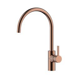 JTP Mono Kitchen Sink Mixer Tap Single Handle - Rose Gold