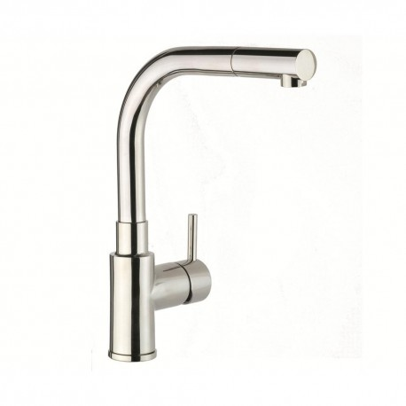 JTP Apco Mono Kitchen Sink Mixer Tap- Pull-Out Spout- Single Handle- stainless steel