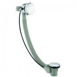 JTP Freeflow Bath Filler with Pop-Up Waste, 1050mm, Chrome