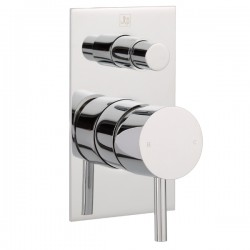 JTP Florence Concealed Shower Valve with Diverter - Chrome