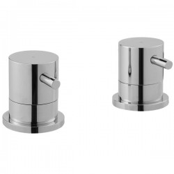 JTP Florence Shower Panel Valve - Chrome