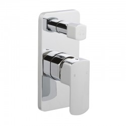 JTP Mis Single Lever Concealed Manual Diverter Valve - Chrome