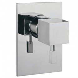 JTP Angelo Single Lever Concealed Manual Shower Valve - Chrome