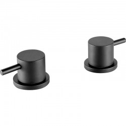 JTP Vos Deck Panel Valves Pair - Matt Black