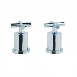 JTP Solex Deck Panel Valves Pair - Chrome
