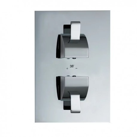 JTP Carlo Thermostatic Concealed 2-Way Valve - LP 0.2
