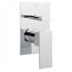 JTP Athena Shower Valve with Diverter Single Handle - Chrome