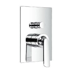 JTP Cascata Concealed Shower Valve & Diverter, Chrome