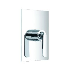 JTP Cascata Concealed Shower Valve, Chrome