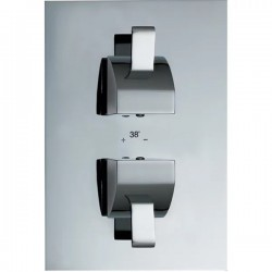 JTP Carlo Thermostatic Concealed Shower Valve - LP 0.2