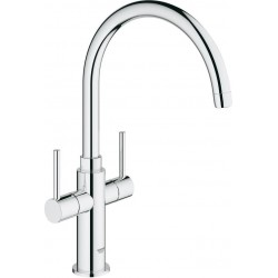 Grohe AMBI Two handle Sink Mixer Tap
