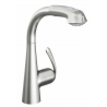 Grohe Zedra Sink Mixer Stainless Steel