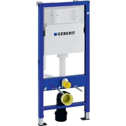 Geberit Duofix Frame For Wall-hung Wc, 112 Cm, With Delta Concealed Cistern 12 Cm