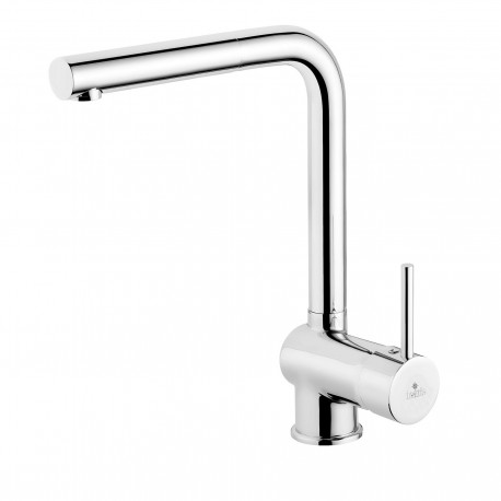 Dante Aster Standing sink mixer with rectangular spout and stretched hand