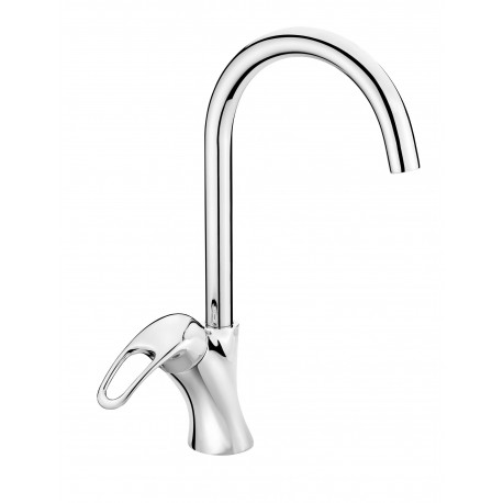 Deante Dalia Sink mixer with U spout chrome