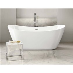 Synergy Bolsena 1700 x 800mm Freestanding Double Ended Bath – SY-FSB402