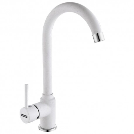 FRANKE POLA WHITE POLAR KITCHEN SINK MIXER TAP