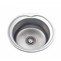 Deante Cornetto 1 - bowl sink with flange
