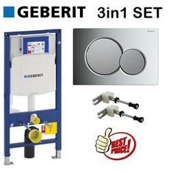 Geberit Duofix Up320 1.12m Sigma Cistern Wall Hung Concealed Wc Toilet Frame Set