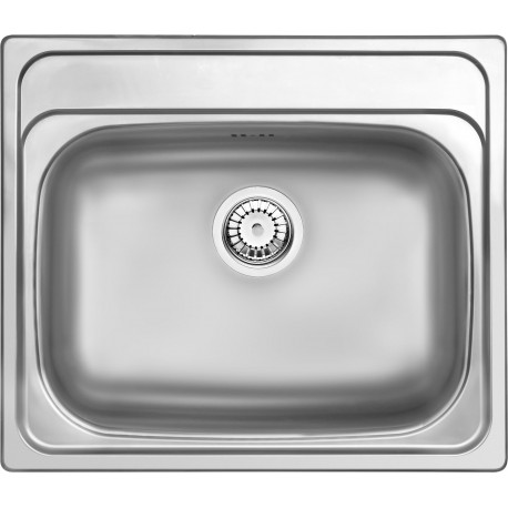 Deante Maredo 1-bowl sink without draining board