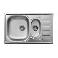Deante Soul 1,5-bowl sink with draining board