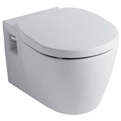 Ideal Standard Concept Wall Hung Wc Toilet Pan With Soft Close Seat 2in1 Set