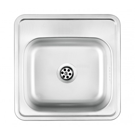Deante Techno 1-bowl sink without draining board