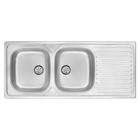 Deante Twist 2 chamber sink with draining tray
