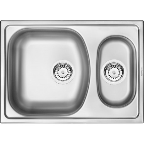 Deante Xylo 1,5-bowl sink without draining board