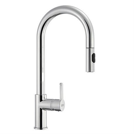 Franke Arena Pull Out Spray Kitchen Tap Chrome