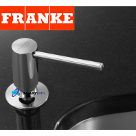 FRANKE CHROME SOAP WASHING UP LIQUID DISPENSER PUMP ACTION WORKTOP KITCHEN SINK