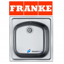 Franke Single 1.0 Bowl Inset With Waste Stainless Steel Square Kitchen Sink