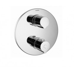 Flova ALLORE ROUND SINGLE OUTLET SHOWER TRIM ONLY - Chrome