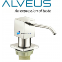 Alveus Brushed Soap Washing Up Liquid Dispenser Pump Action Worktop Kitchen Sink