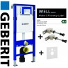 GEBERIT DUOFIX WC TOILET FRAME UP320 SIGMA CISTERN+BRACKETS+WC BEND(112cm) 3in1 Set