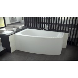 LUNA asymmetrical bathtub