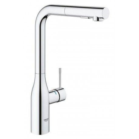 "Grohe Essence 30270000 Single-lever sink mixer 1/2"" pull-out dual spray control"
