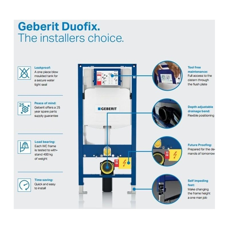 Geberit duofix wc toilet frame up320 sigma cistern for Geberit toilet system