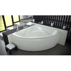 Ewa Symmetrical Acrylic Bathtub 1340x1340