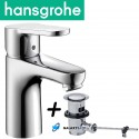 Hansgrohe Talis Puro Chrome Basin Mixer Tap With Pop-up Waste Set