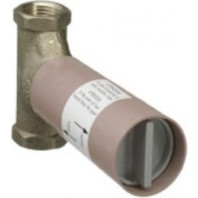 "Hansgrohe Concealed Shut off Valve ¾"" With Spindle"