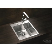 Alveus Stylux 10 POP-UP Kitchen Flush Or Flat-Mount Sink