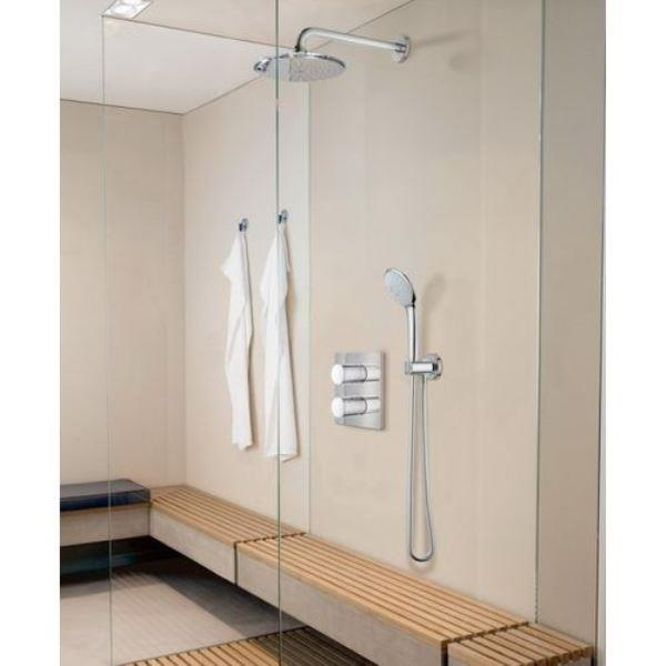 Gut bekannt Grohe Grohtherm 3000 Cosmopolitan Comfort Shower Set Concealed Ther... LE98