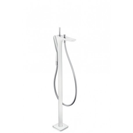 Hansgrohe PuraVida Freestanding bath and shower mixer