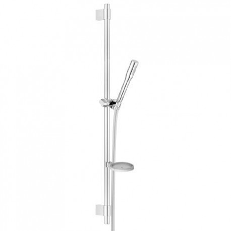 Grohe Ecojoy Cosmopolitan Stick 900mm Slide Riser Rail Kit 1 Mode Spray Shower Head&Hose Set