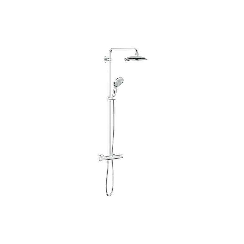 grohe euphoria power soul system thermostatic tap shower mixer sy. Black Bedroom Furniture Sets. Home Design Ideas