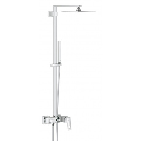 Grohe Euphoria Cube System XXL 230 Tap Shower Mixer Single Lever Panel Rain Overhead