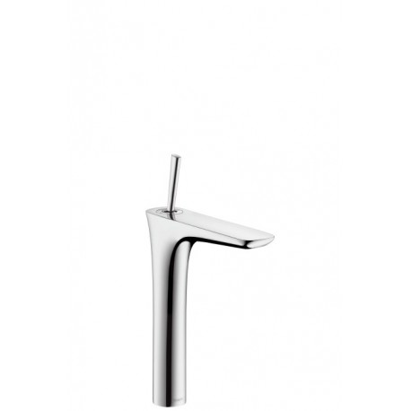 Hansgrohe PuraVida Single lever highriser basin mixer for wash bowls