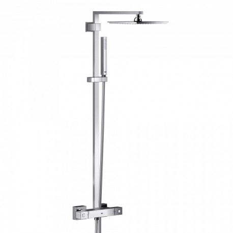 Grohe Euphoria Cube System XXL 230 Tap Shower Thermostatic  Mixer Single Lever Panel Rain Overhead