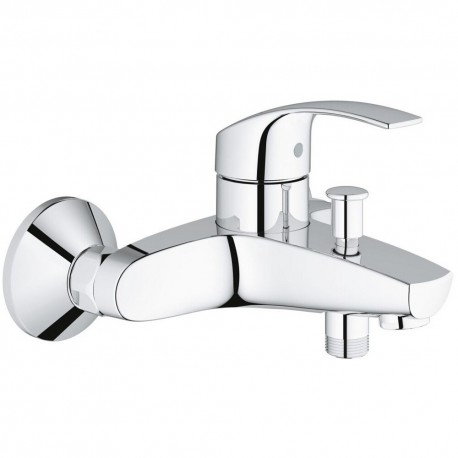 Grohe Eurosmart Single Lever Bath Mixer Tap Chrome